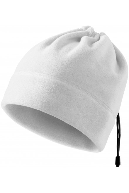 Hat with lace White