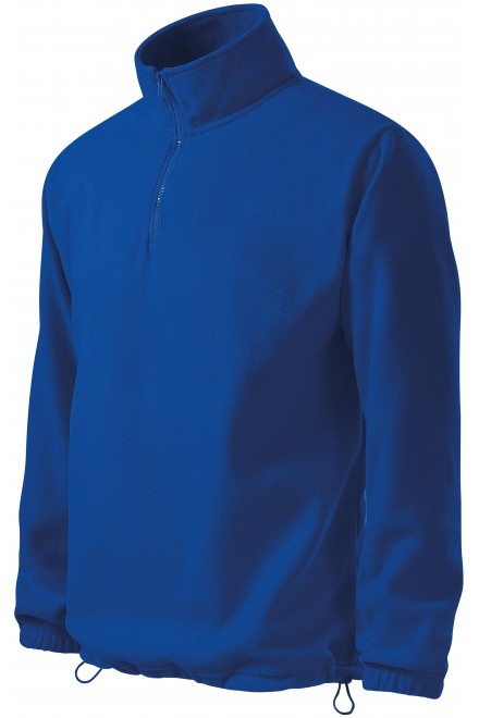 Men's fleece jacket Royal blue
