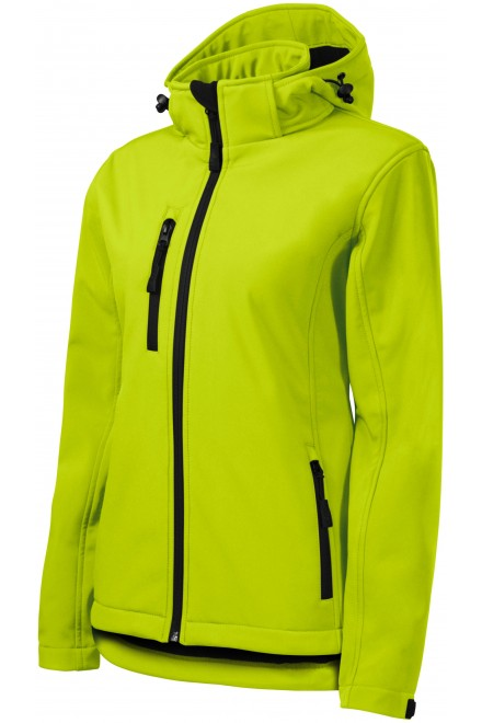 Women's jacket, wind and rain resistant White