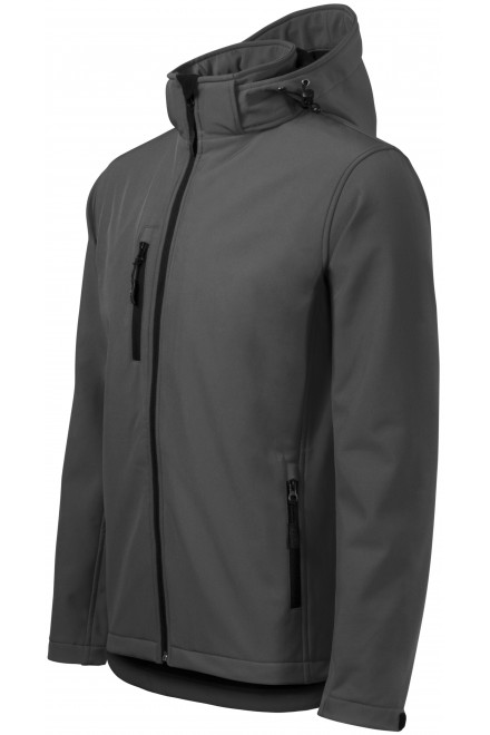 Men's jacket, wind and rain resistant Black