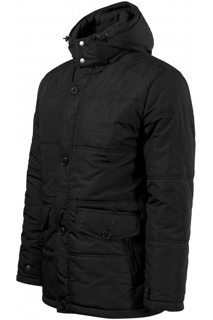 Men's insulated jacket Black