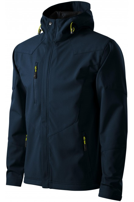 Men's softshell jacket Navy blue