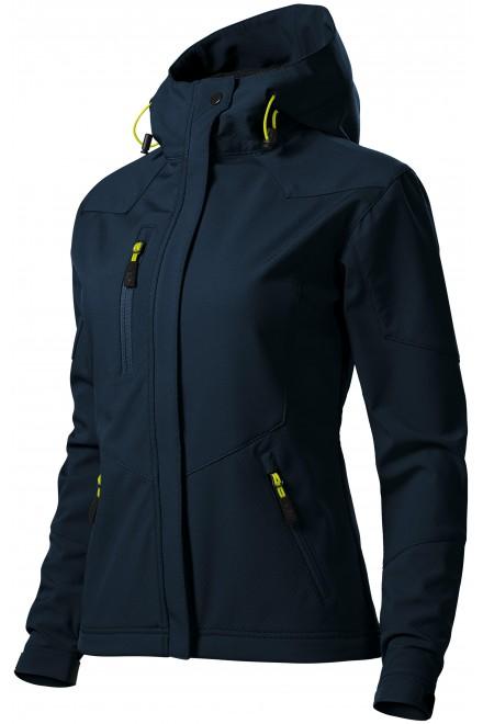 Ladies softshell jacket Black