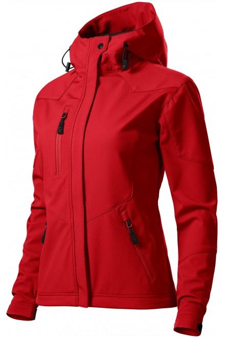 Ladies softshell jacket Red