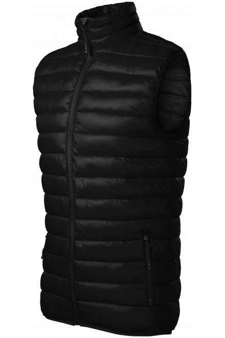 Men's quilted vest Black