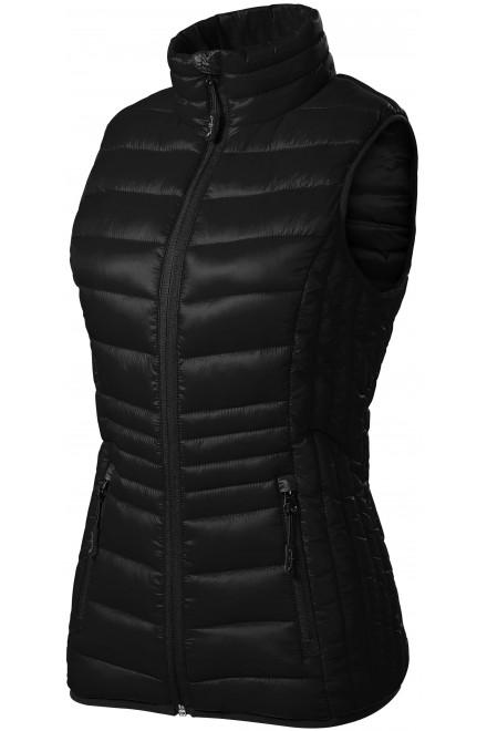 Ladies quilted vest Black