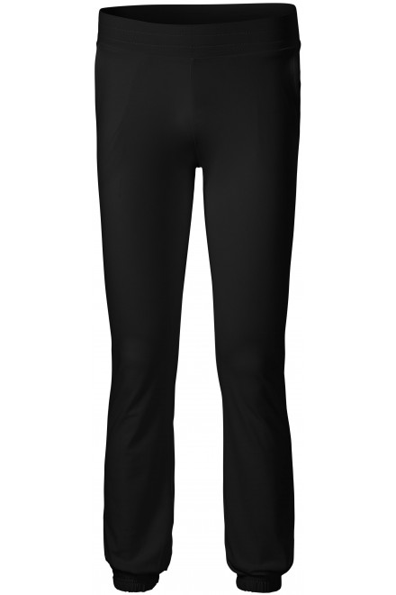 Black ladies sweatpants with pockets