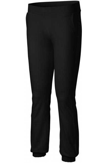 Ladies sweatpants with pockets Black