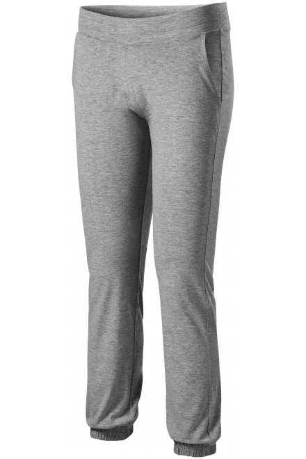 Ladies sweatpants with pockets Dark gray melange