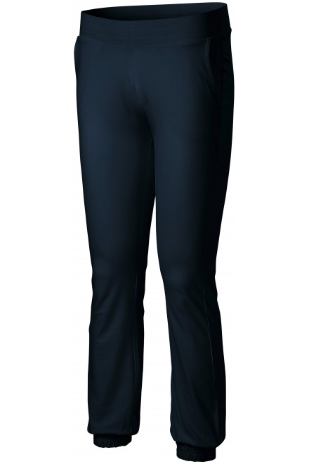 Ladies sweatpants with pockets Navy blue