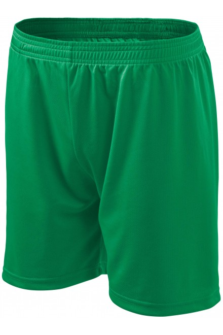 Men's / childrens shorts Kelly green