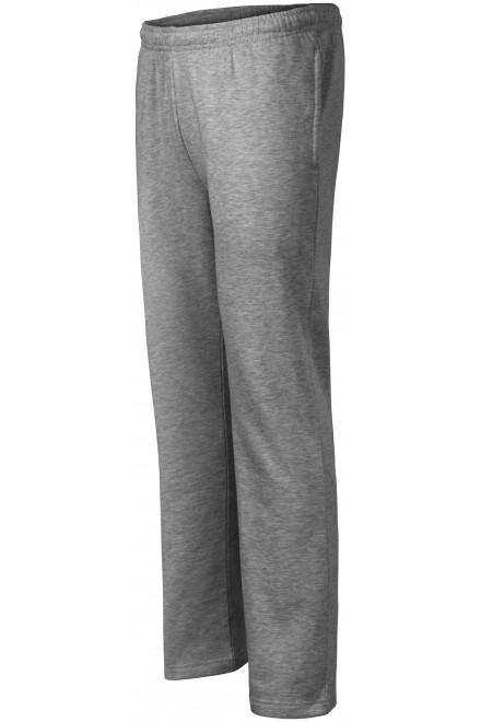 Men's / childrens sweatpants Dark gray melange