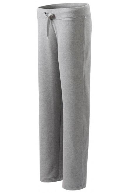 Comfortable ladies sweatpants Dark gray melange