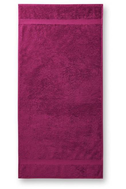 Towel rougher, 50x100cm Fuchsia red