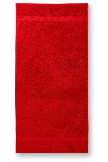 Towel rougher, 50x100cm Red