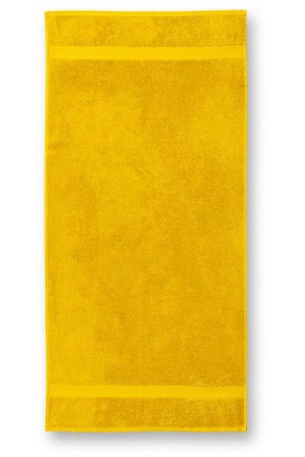 Towel rougher, 50x100cm Yellow