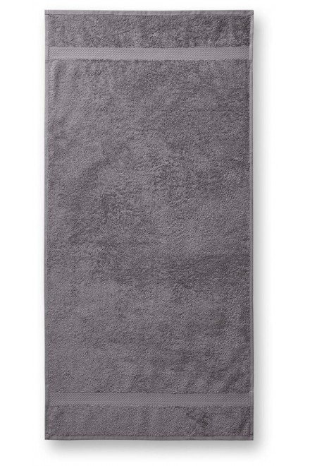 Coarse towel, 70x140cm Antique silver