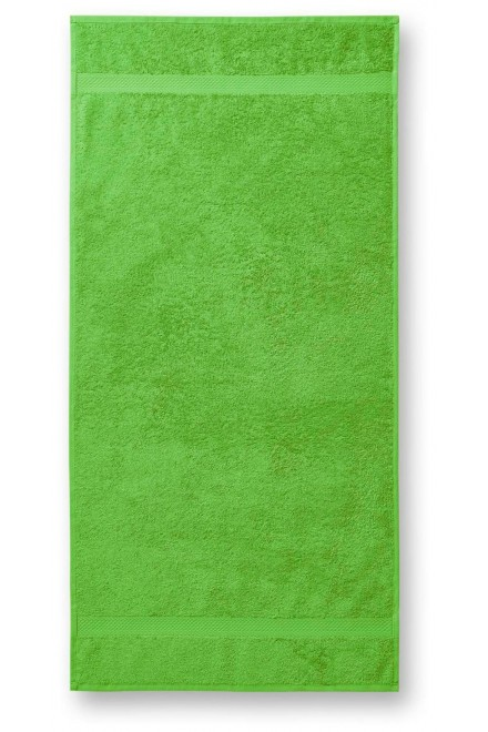 Coarse towel, 70x140cm Apple green