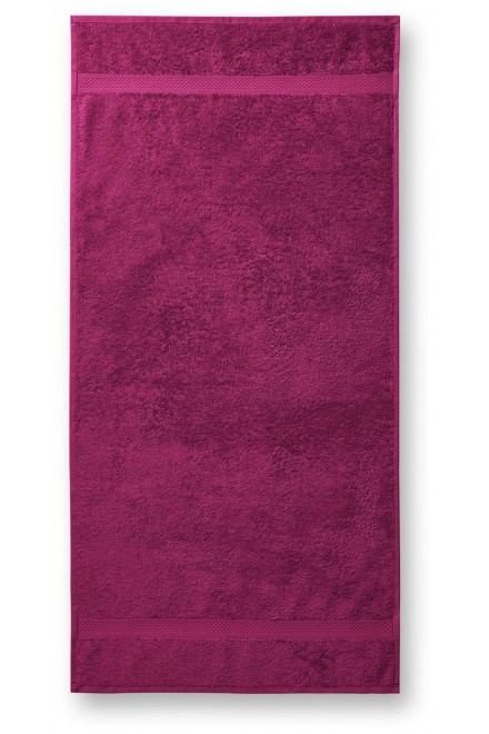 Coarse towel, 70x140cm Fuchsia red