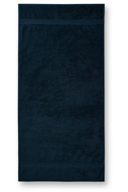 Coarse towel, 70x140cm Navy blue