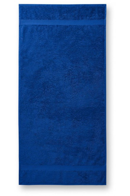 Coarse towel, 70x140cm Royal blue