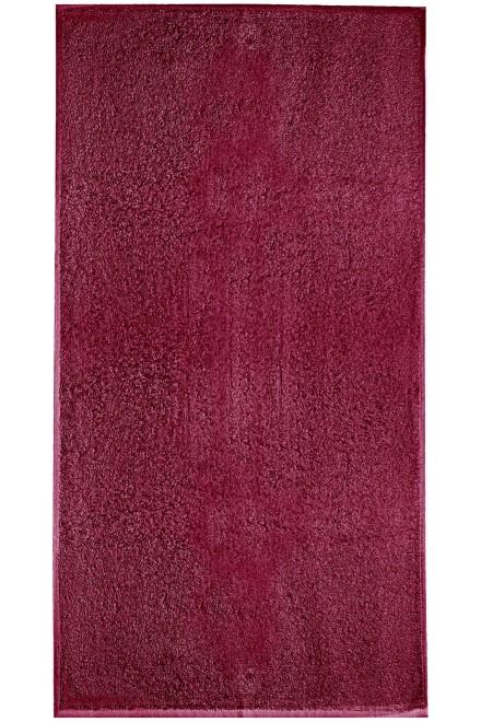 Small towel, 30x50cm Marlboro red