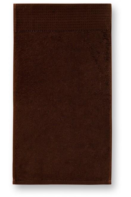 Small bamboo towel, 30x50cm Coffee