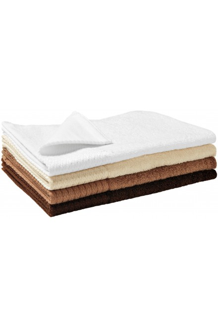 Small bamboo towel, 30x50cm White