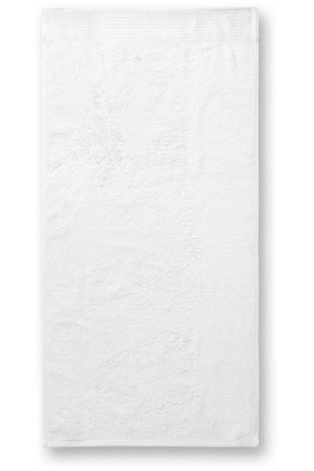 Bamboo towel, 50x100cm White
