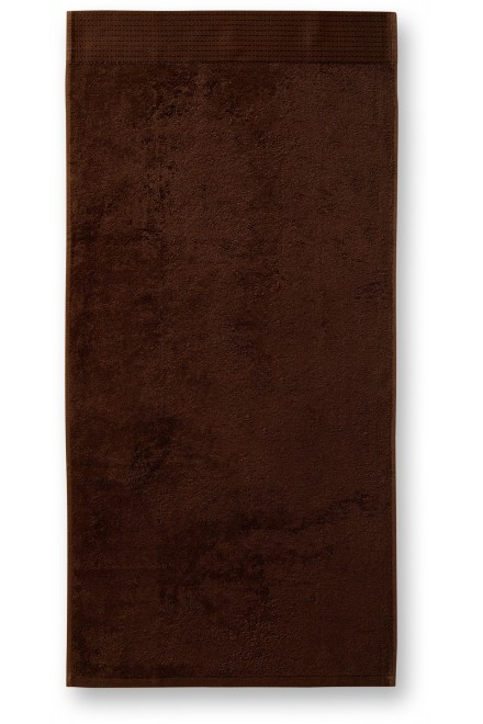 Bamboo bath towel, 70x140cm Coffee