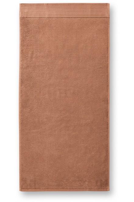 Bamboo bath towel, 70x140cm Nougat