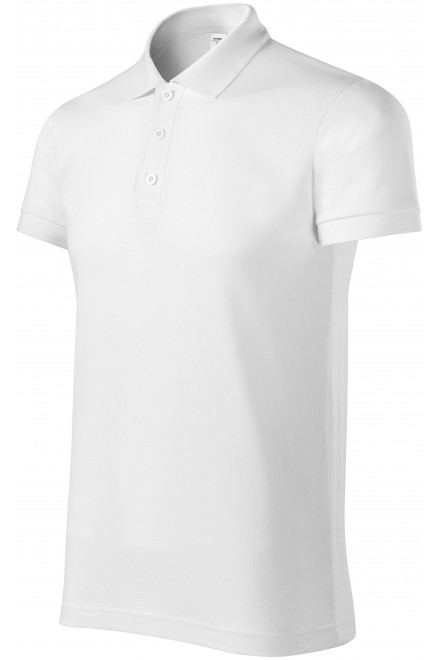 Comfortable men's polo shirt White