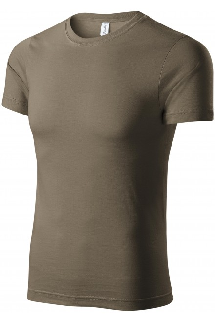 T-shirt with short sleeves Army