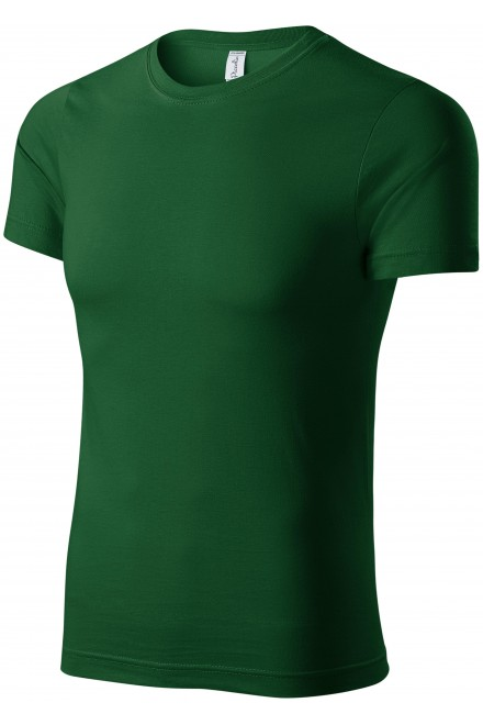 T-shirt with short sleeves Bottle green