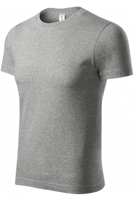 T-shirt with short sleeves Dark gray melange