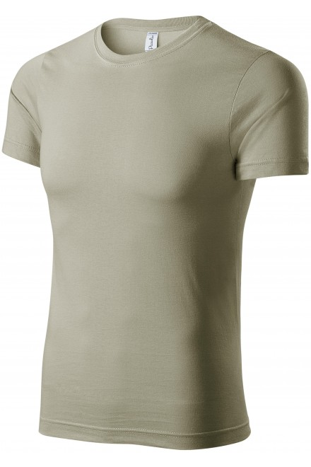 T-shirt with short sleeves Light khaki