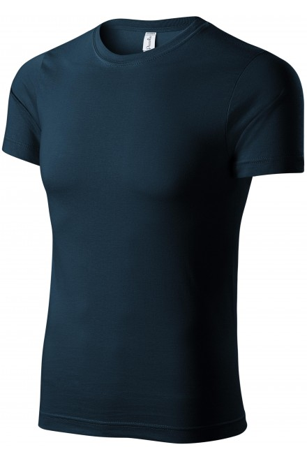 T-shirt with short sleeves Navy blue