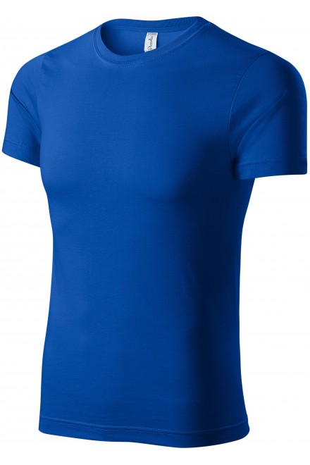 T-shirt with short sleeves Royal blue