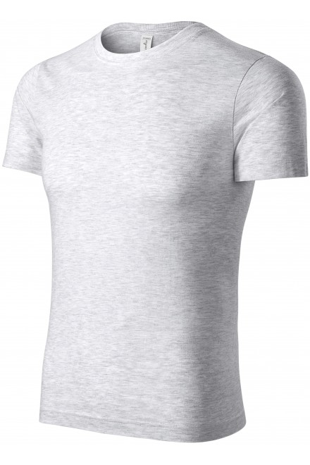 T-shirt of higher weight White