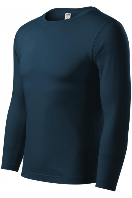 T-shirt with long sleeves, low weight White
