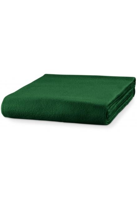 Fleece blanket, 120x150cm Bottle green