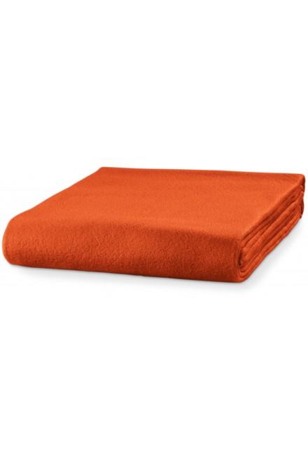 Fleece blanket, 120x150cm Orange