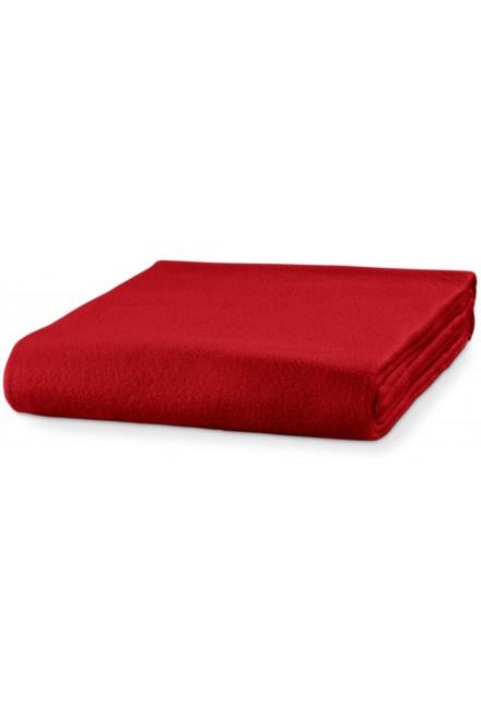 Fleece blanket, 120x150cm Red