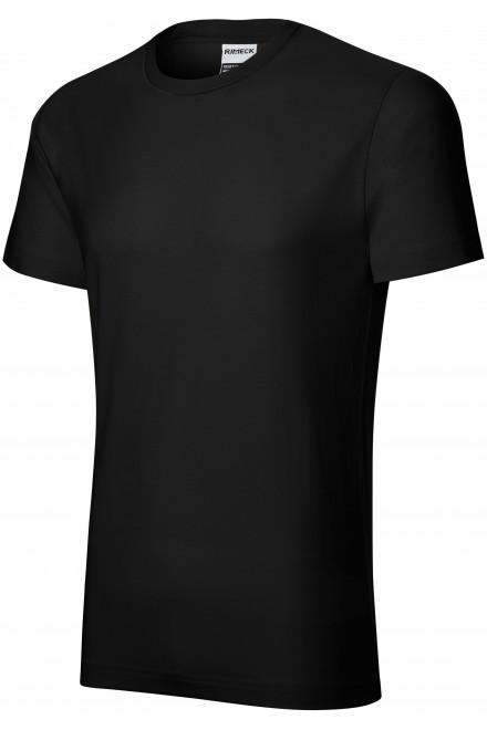 Durable men's T-shirt heavier Black