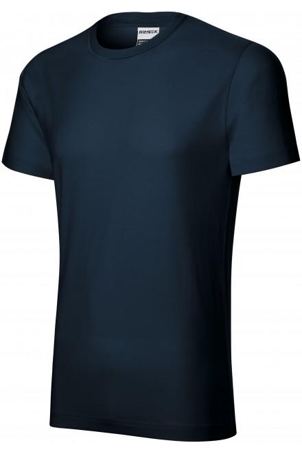 Durable men's T-shirt heavier Navy blue