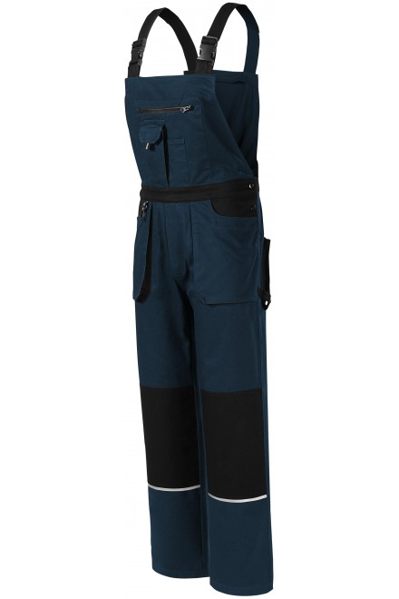 Men's working trousers with braces Navy blue