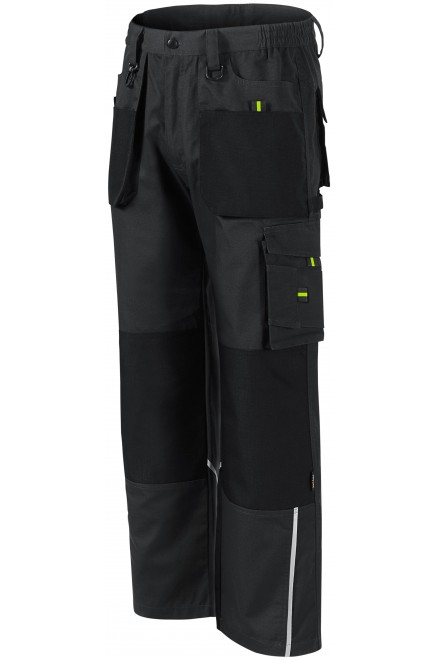 Men's working trousers enhanced Ebony gray