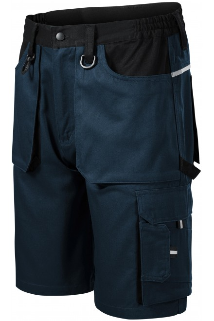 Short working trousers Navy blue