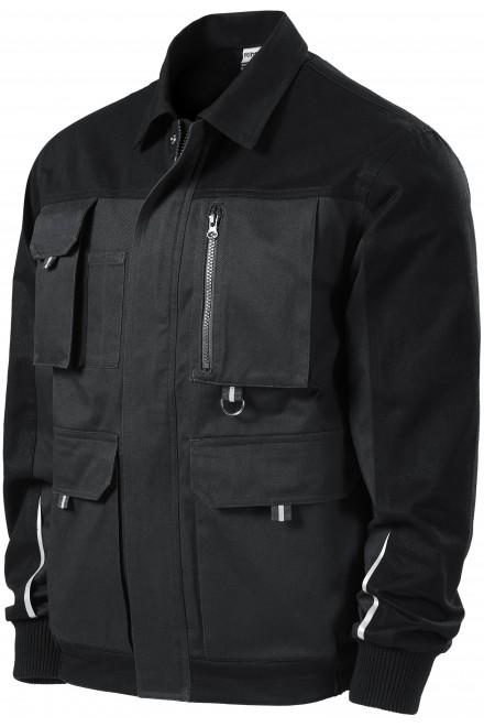 Men's working jacket Ebony gray