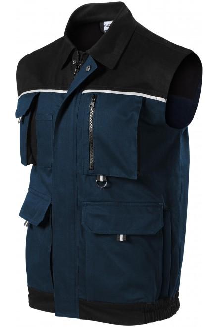 Men's working vest Navy blue